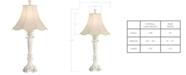 Kathy Ireland home by Pacific Coast Chateau de Bordeaux White Table Lamp