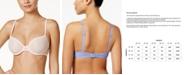 Calvin Klein Sheer Marquisette Lightly-Lined Demi Bra QF1839