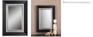 Uttermost Whitmore Black Vanity Mirror
