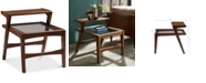 Furniture Kailey Side Table with Glass