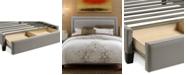 Furniture Upholstered Sensu-Cement California King Storage Base