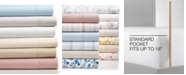 Martha Stewart Collection CLOSEOUT! 4-Pc Solid Sheet Sets, 400 Thread Count 100% Cotton Percale, Created for Macy's