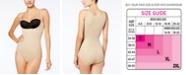 Maidenform Women's  Firm Control Ultimate Instant Slimmer Open Bust Bodysuit 2656