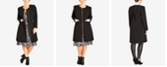 City Chic City Chic Trendy Plus Size Simple Collarless Coat