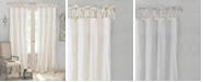 "Elrene Jolie 52"" x 84"" Crushed Semi-Sheer Curtain Panel"