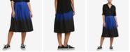 DKNY Pleated Ombré Midi Skirt, Created for Macy's