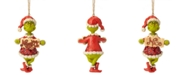 Enesco Jim Shore Grinch with Naughty/Nice Sign Ornament