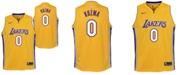 Nike Kyle Kuzma Los Angeles Lakers Icon Swingman Jersey, Big Boys (8-20)
