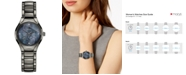 Rado Women's Swiss Automatic True Star Virgo Sign Diamond-Accent Plasma High-Tech Ceramic Bracelet Watch 30mm