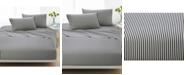 Marimekko Ajo Cotton 200-Thread Count 3-Pc. Black Stripe Twin XL Sheet Set