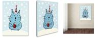 Trademark Global Carla Martell 'Christmas Snow Cat' Canvas Art Print Collection