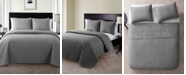 VCNY Home Caroline Embossed 3-Piece Full/Queen Quilt Set