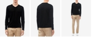 Calvin Klein Men's Long-Sleeve V-Neck Shirt