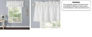 Laura Ashley Annabella White Ruffle Window Valance