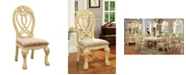Furniture of America Madison White Dining Chair (Set of 2)