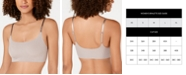 Calvin Klein Invisibles Comfort Lightly Lined Retro Bralette QF4783