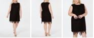 Betsey Johnson Plus Size Lace Sheath Dress