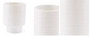 Zuo White Short Vase