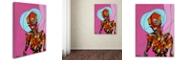 "Trademark Global Craig Snodgrass 'Segmented Man I' Canvas Art, 18"" x 24"""
