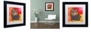 """Trademark Global Dean Russo 'Baby Albert' Matted Framed Art, 11"""" x 11"""""""