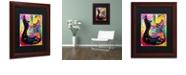 "Trademark Global Dean Russo 'Lenny Strat' Matted Framed Art, 11"" x 14"""