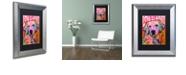 """Trademark Global Dean Russo 'Love is Golden' Matted Framed Art, 11"""" x 14"""""""