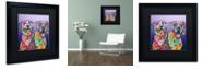 "Trademark Global Dean Russo 'Peas In A Pod' Matted Framed Art, 16"" x 16"""