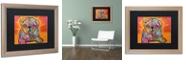 "Trademark Global Dean Russo 'Sugar Pug' Matted Framed Art, 16"" x 20"""