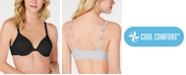 Hanes Ultimate Front-Close T-Shirt Underwire Bra DHHU01, Online only