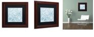 "Trademark Global Color Bakery 'Dulce I' Matted Framed Art, 11"" x 11"""