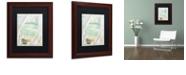 "Trademark Global Color Bakery 'Summer Me Ii' Matted Framed Art, 11"" x 14"""