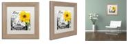 "Trademark Global Color Bakery 'Italia Ii' Matted Framed Art, 11"" x 11"""