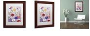 "Trademark Global Color Bakery 'Sevilla Ii' Matted Framed Art, 11"" x 14"""