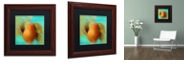 """Trademark Global Color Bakery 'Glowing Fruits Iv' Matted Framed Art, 11"""" x 11"""""""
