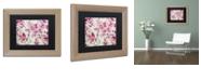 "Trademark Global Color Bakery 'Toile Fabrics Iii' Matted Framed Art, 11"" x 14"""