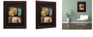 "Trademark Global Color Bakery 'Hunting Season Iii' Matted Framed Art, 11"" x 14"""