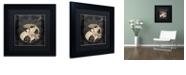 """Trademark Global Color Bakery 'Vintage Cafe Ii' Matted Framed Art, 11"""" x 11"""""""