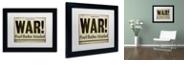 "Trademark Global Color Bakery 'Pearl Harbor' Matted Framed Art, 11"" x 14"""