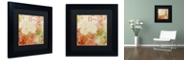 """Trademark Global Color Bakery 'October Pastel Ii' Matted Framed Art, 11"""" x 11"""""""