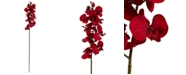 """Nearly Natural 36"""" Christmas Phalaenopsis Orchid Artificial Flower, Set of 4"""