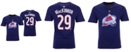 Majestic Men's Nathan MacKinnon Colorado Avalanche Authentic Stack Name & Number T-Shirt