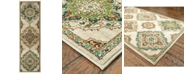 "Oriental Weavers Dawson 8334A Beige/Multi 2'3"" x 7'6"" Runner Area Rug"
