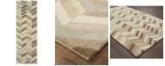 """Oriental Weavers Infused 67005 Beige/Gray 2'6"""" x 8' Runner Area Rug"""