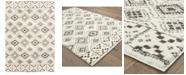 "Oriental Weavers Verona Shag 1330W Ivory/Brown 3'10"" x 5'5"" Area Rug"