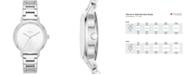 DKNY Women's Modernist Stainless Steel Bracelet Watch 32mm, Created for Macy's