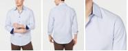 Tasso Elba Men's Dot Stripe Shirt, Created for Macy's