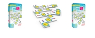 Junior Learning Time Dominoes Match and Learn Educational Learning Game