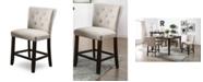 Furniture Norton Transitional Pub Chair (Set of 2)