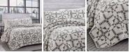Eddie Bauer Arrowhead Charcoal Quilt Set, Twin