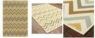 """Oriental Weavers Riviera 4593 3'7"""" x 5'6"""" Indoor/Outdoor Area Rug"""